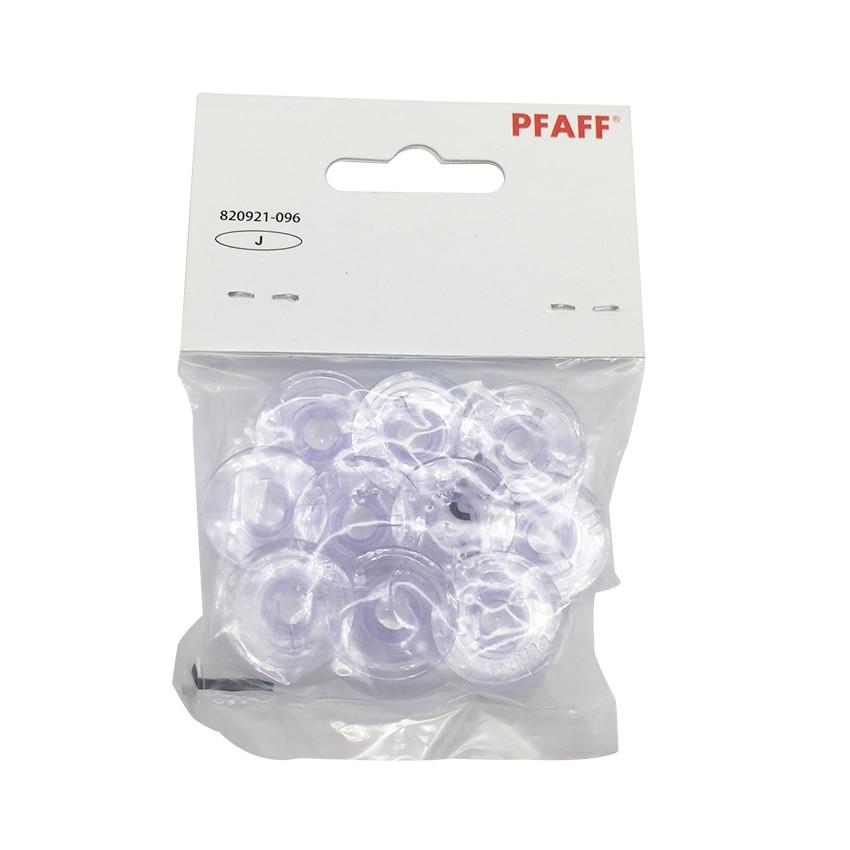 10PCS Plastic Bobbins For Pfaff Expression 2.0, 3.0 & Creative Vision 4.0,5.0 820921-096