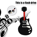 De dibujos animados USB Flash Drive de la Guitarra Regalo Creativo Pen Drive USB Flash de la Capacidad Verdadera Pendrive USB Stick Unidad Flash USB de Alta velocidad