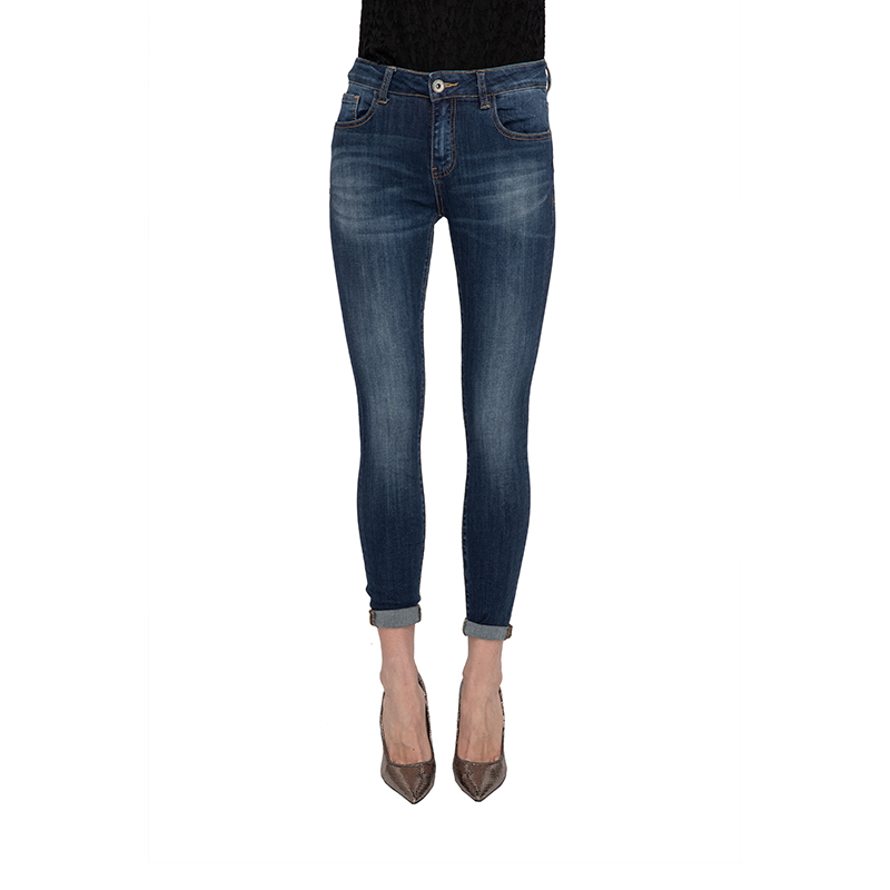 My Will Jeans Blue  Jeans Fashion 7121 Made In China
