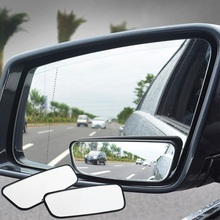 2 PCS/a set Blind Spot Mirror Wide Angle 360 Degree Adjustable Convex Rear View Car mirror for All Universal Vehic