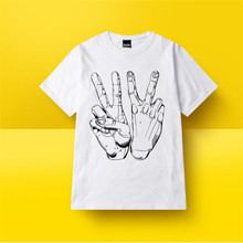 Summer New Daily Men Tshirt Hiphop clothing cotton Printed O-neck Skateboards T-Shirts Summer Style Short Sleeve Tee Palace Tees funny t shirts short judas priest keep the faith official men printed o neck tee