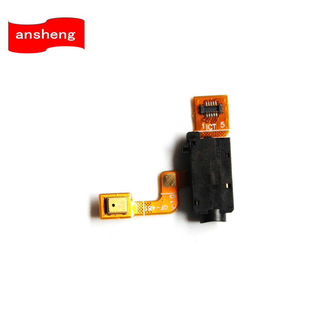 Earphone Headphone Audio Jack Flex Cable With Mic Microphone For Sony XPeria XA F3111 F3112 F3113 F3115 F3116 Mobile Phone
