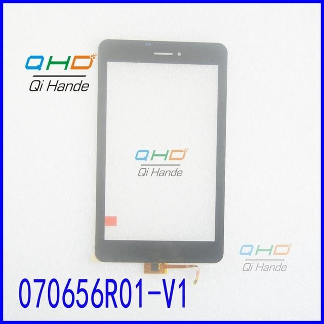 """Оригинальный Черный Новый Сенсорный Экран 7 """"icnh T7GT Cube T7 Tablet PC 070656R01-V1 Сенсорная Панель Планшета Стекло Датчик Бесплатная Доставка"""