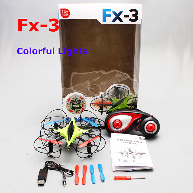 Free shipping 2015 Fineco FX-3 GYRO 2.4G 4CH 6-Axis Mini RC Helicopter Radio Control UFO Quadcopter Quad Copter RTF