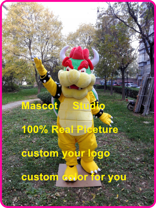 US $325 0 |Bowser Monster Mascot Costume custom fancy costume anime cosplay  kits mascotte fancy dress carnival costume 41523-in Mascot from Novelty &
