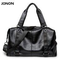 Jonon Leather Bag Business Men Bags Laptop Tote Briefcases Crossbody Bags Shoulder Handbag Men S Messenger