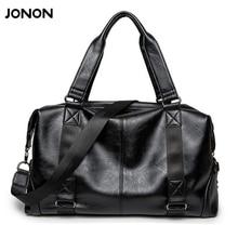 Jonon Leder tasche Business-männer taschen Laptop Tote Aktentaschen Umhängetaschen Handtasche herren Umhängetasche Reisen