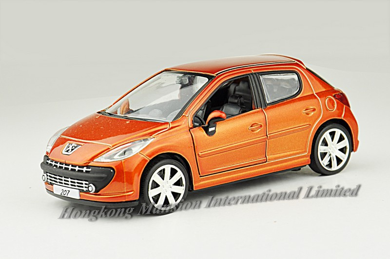 1:32 Scale Alloy Diecast Metal Car Model For Peugeot 207 Collection ...