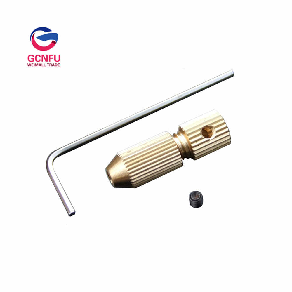 1pcs types of small drill chuck copper clip to the micro drill twist  chuck Hand drill accessories since the tight free shipping