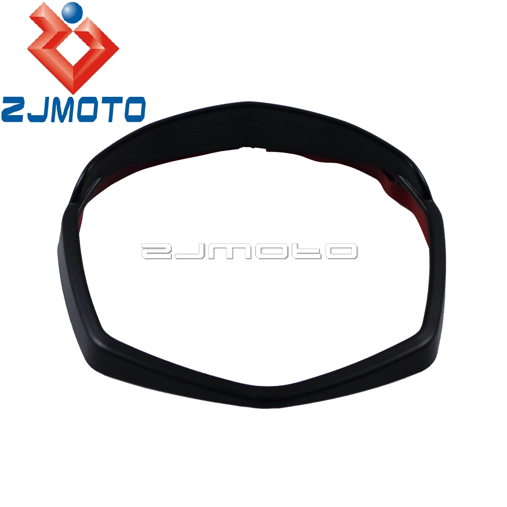 1x Black Motorcycle Instrument Dash Surround Gauges Panel Rim Cover For KTM Duke 125 200 390 2012 2013 2014 2015 2016 image
