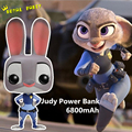 High Quality Cartoon Judy Rabbit 5800mAh Power Bank Portable Charger External Backup Battery Mobile Charger For iPhone Android