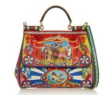 Lady Sinple Genuine Leather Women Tote Handbag Shopping Bag, 2016 fashion shoulder handbag for lady