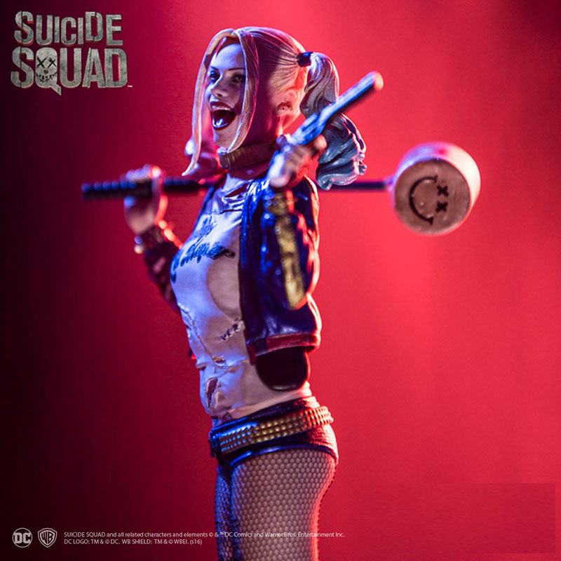 Suicide Squad Harley Quinn Crazy Toys 1/12TH PVC Scale Collectible Figure The JOKER Action Figure Collectible Model Doll Toy 35 marvel super hero suicide squad avengers batman harley quinn joker building blocks action figure baby kids toys page href page 4