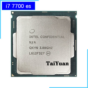Intel Core i7-7700 ES i7 7700 ES i7 7700es QKYN 3.0 GHz Quad-Core Eight-Thread CPU Processor 8M 65W LGA 1151