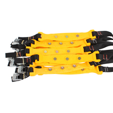 10 Pcs Auto Vehicle Wheels Antiskid TPU Chain Car Snow Tire Anti-Skid Chains Thickened Beef Tendon Size S