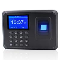 Biometric Fingerprint Time Clock Recorder Fingerprint Attendance Office Machine fingerprint and password. 0 55