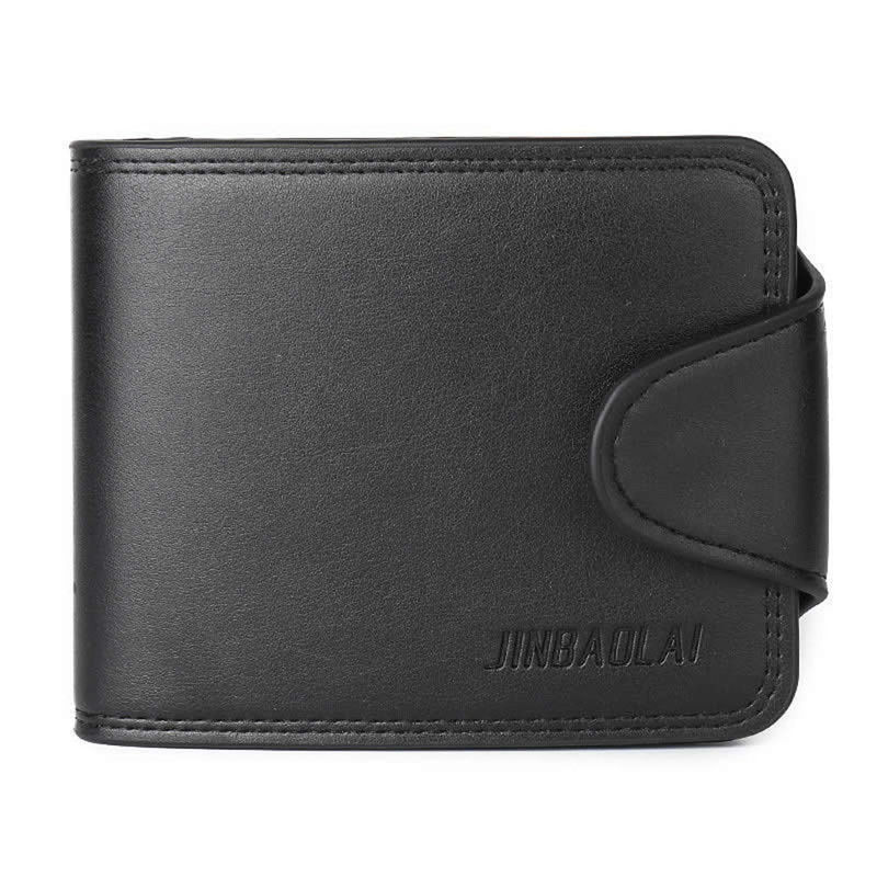 THINKTHENDO High Quality Men Credit ID Card Holder Big Capacity MUlti-functional Purse Slim Short Clutch PU Hasp Wallet 1000g 98% fish collagen powder high purity for functional food