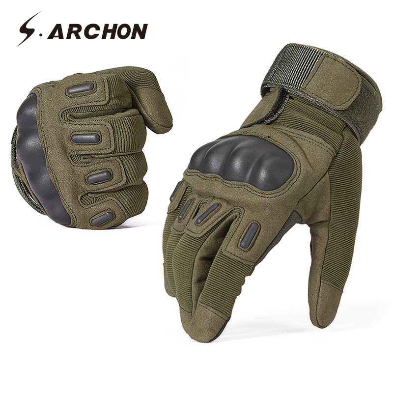 US Mens Tactical Military Camo Combat Airsoft Hunting Work Half Finger Gloves