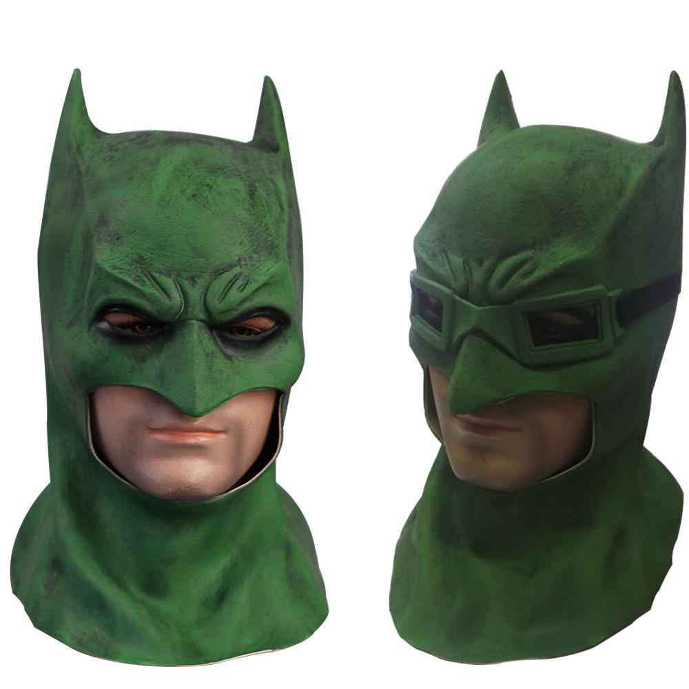 Suicide Squad Batman Masks Joker Green Mask Latex Batman Vs Superman Masks With Glasses Cosplay Batman Masks Halloween Party (7)