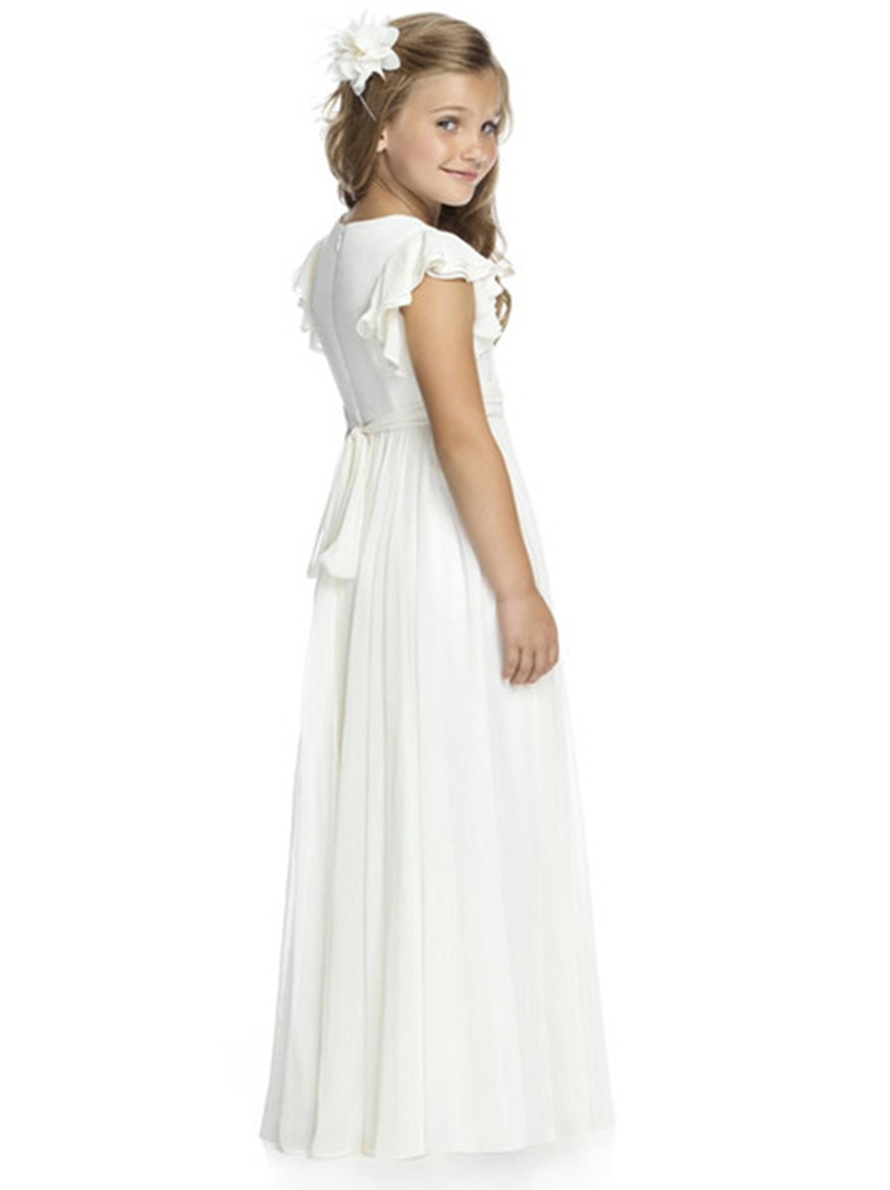 cb52cff7066 Long Chiffon Junior Bridesmaid Dresses - Data Dynamic AG