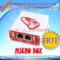 Envío gratis micro caja completamente activado para htc + sagem + bb + alcatel + 40 juego de cables + caja de cable para htc + micro adaptador