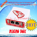 free shipping Micro Box Fully Activated For Htc + Sagem+BB + Alcatel + 40 Cable Set+Cable For HTC+micro box adaptor