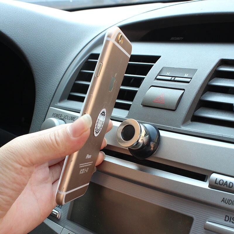 360 grad Universal Kfz-halter Magnetische Lüftungsschacht Mount Handy Auto Handyhalter Ständer Handyzubehör