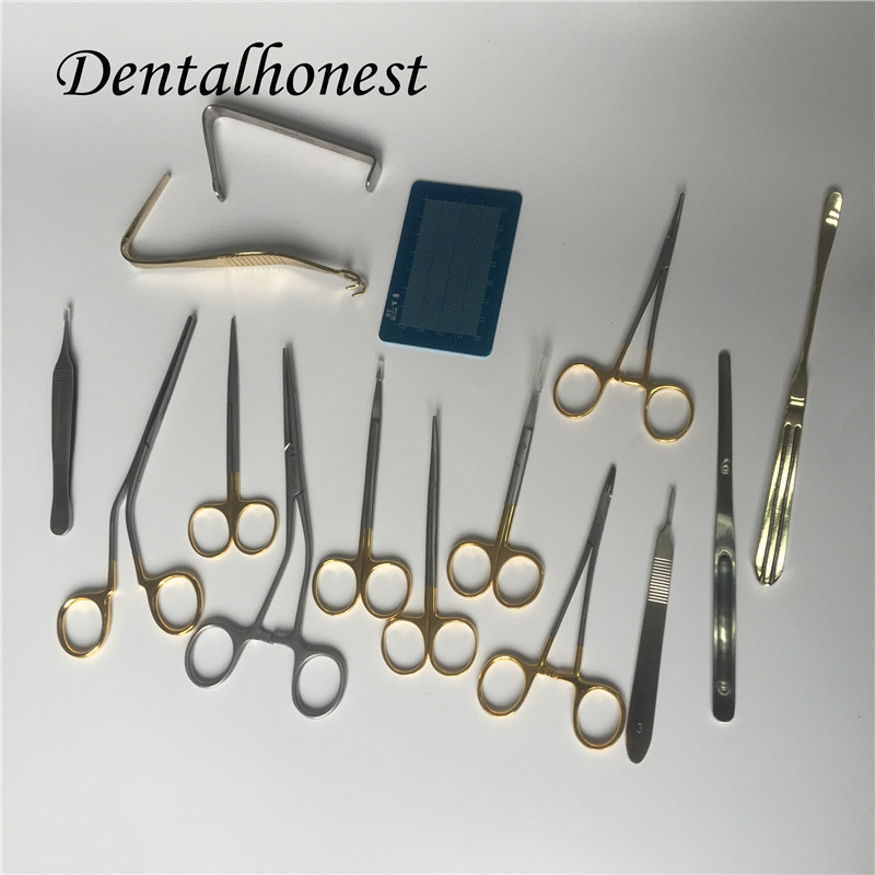 2019 High Quality Nasal Plastic Surgery Instrument Set Stainless Steel Tools