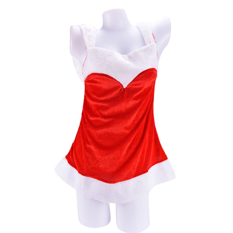 2017 Christmas Festival Cosplay Bandage Costumes Female erotica lingerie Halloween Uniform Role Playing Women Sexy Santa Clause