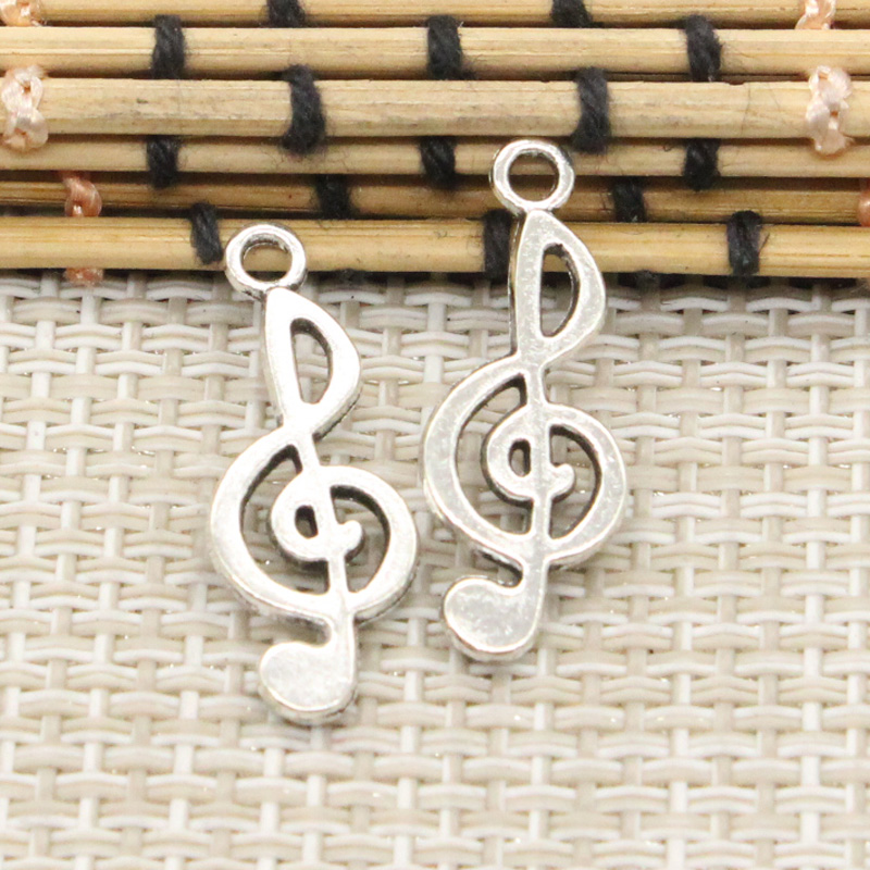 10pcs charms musical note 2610mm tibetan silver plated pendants 10pcs charms musical note 2610mm tibetan silver plated pendants antique jewelry making diy handmade craft aloadofball Gallery