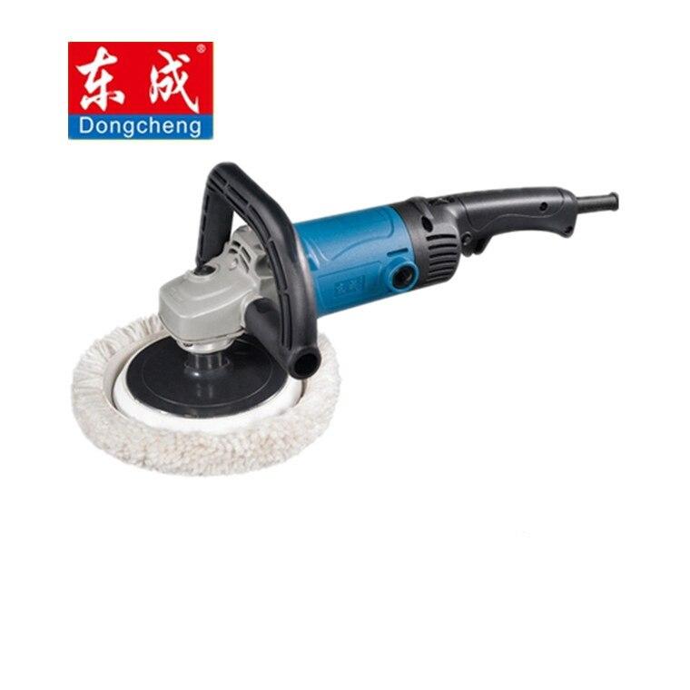 1400W Car Polisher 180mm 100% Wool Waxing Machine 690-3800Rpm 6 Speed