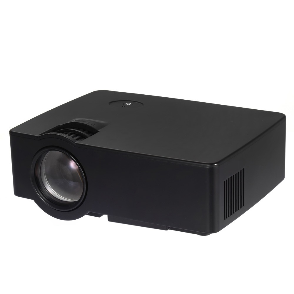 E08 LCD Projector 1500 Lumens 800 x 480 Pixels 1080P Home Theater with Airplay Miracast