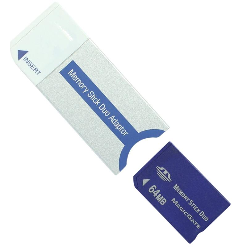 PSP למעלה 32MB 64MB 128MB 256MB 512MB 1GB Memory Stick Pro Duo Memory Card עבור PSP / מצלמה עם זיכרון Stick כרטיס MS Pro Duo מתאם (3)