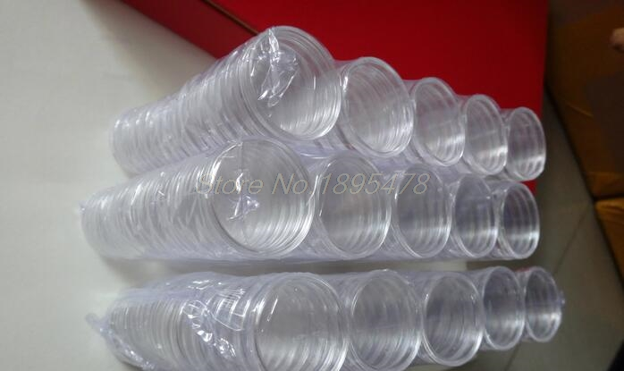 Image 2 - 500pcs 65mm Clear Coin Capsules Caps Transparent Coincapsules For Coins US Presidential Sacagawea Dollar-in Furniture Accessories from Furniture