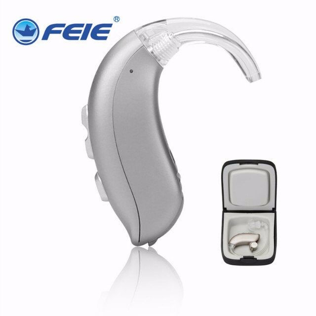 Super Powerful Amplifier BTE hearing aid 8 Channel aparelho auditivo tinnitus for severe to Profound Hearing loss MY 26