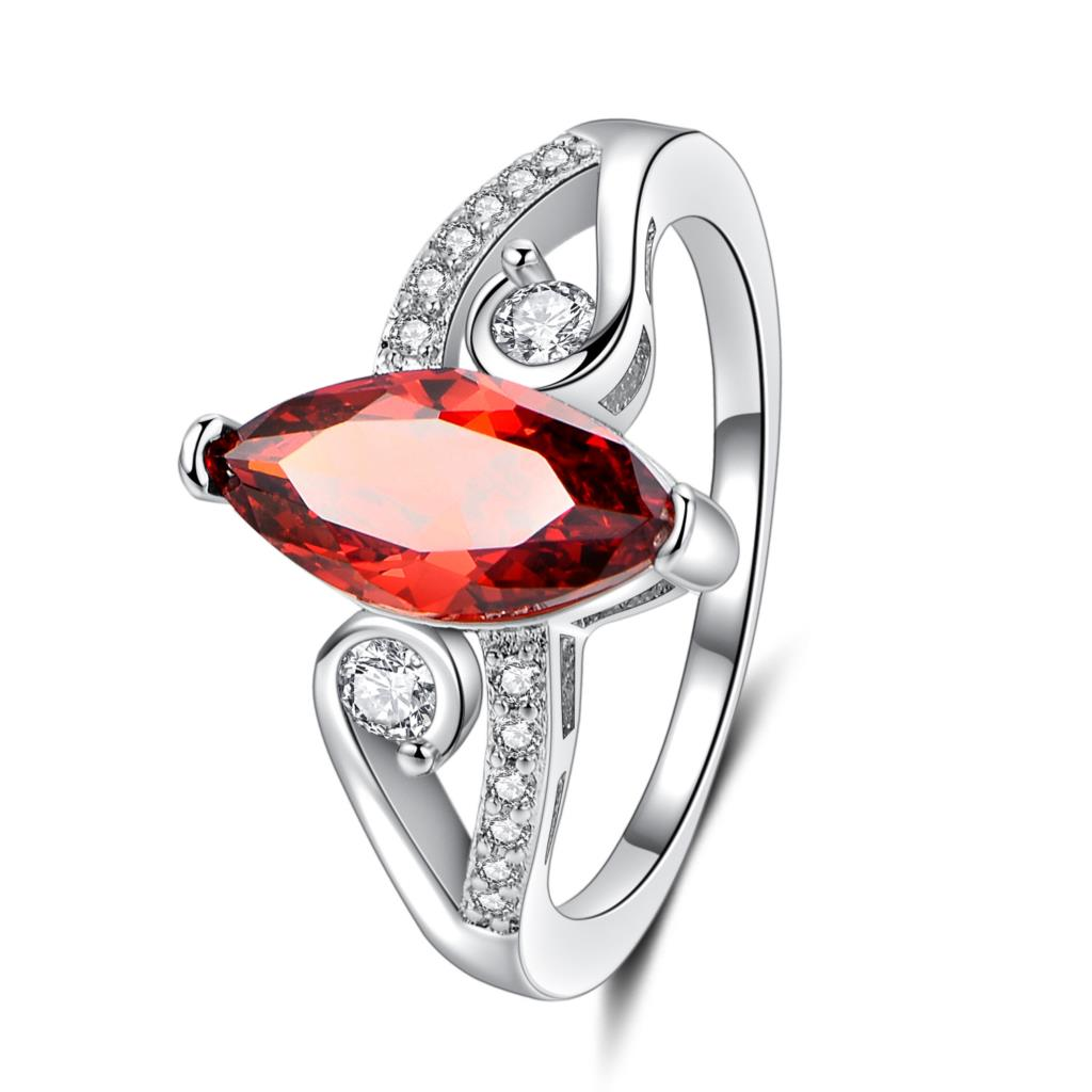 Hainon 2018 New CZ Crystal Engagement Rings For Women