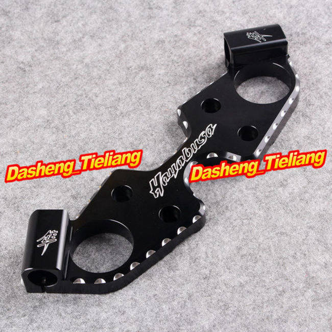 For Suzuki GSX1300R Hayabusa 2008 2013 Motorcycle Triple Tree Front End Upper Top Clamp Black Spare