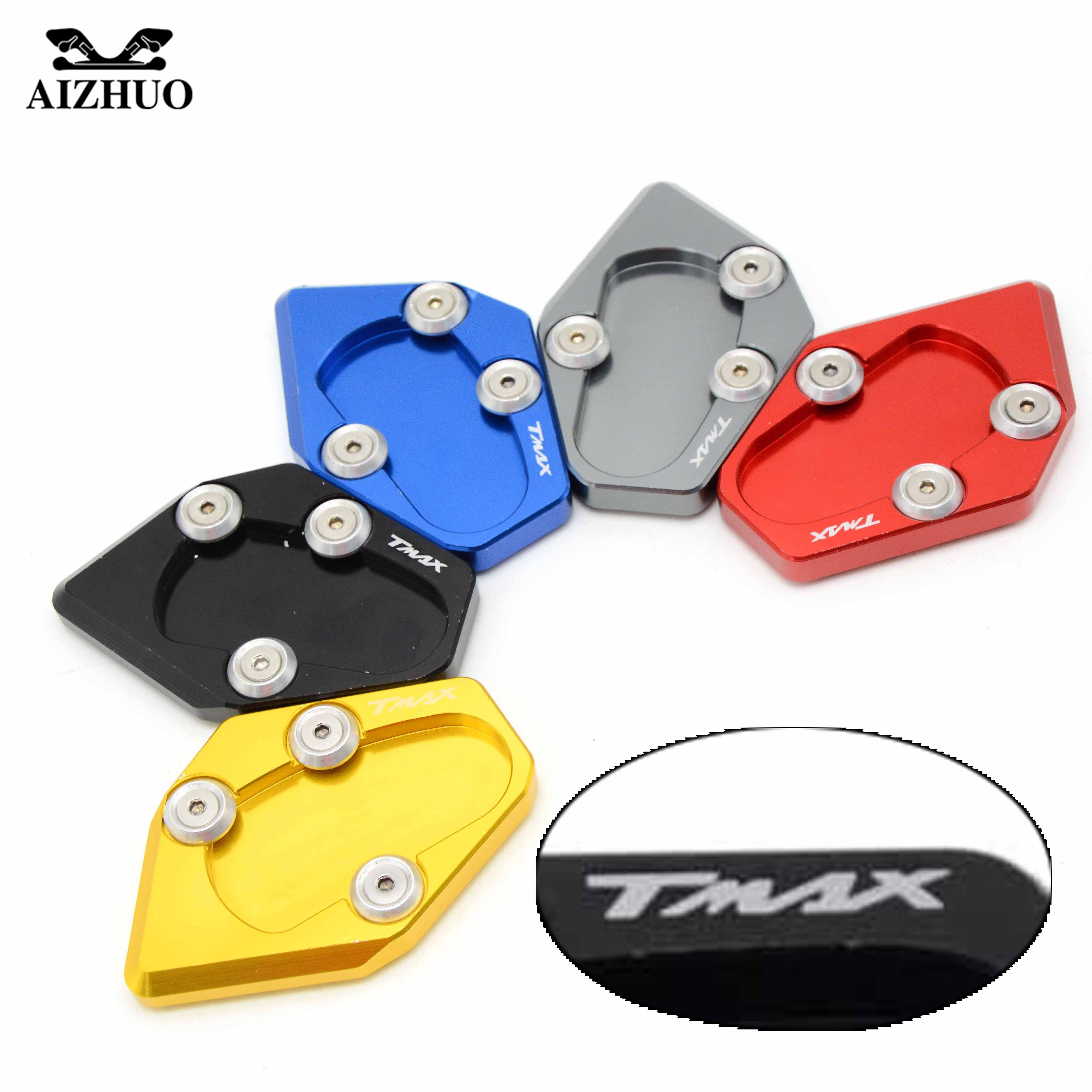 Motorcycle Kickstand Enlarge Extension Side Stand Plate Enlarge For Yamaha T-MAX 530 TMAX 530 XP530 XP 530 2015-2016