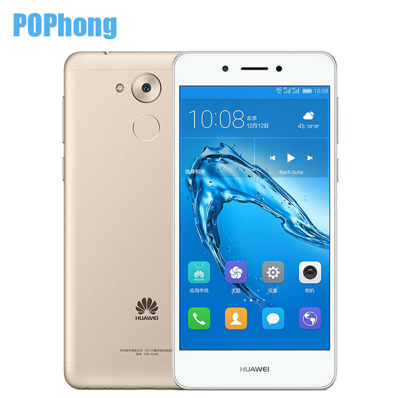 "Global rom 5,0 ""Huawei enjoy 6S 3 ГБ Оперативная память 32 ГБ Встроенная память Android 6,0 смартфоне Qualcomm MSM8940 Восьмиядерный отпечатков пальцев ID Dual SIM P"