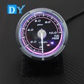 High Quality 2.5 INCH 60MM DY Advance Universal Fuel Level Gauge Pink colors Light racing car Fuel Meter