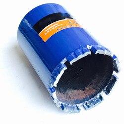 Livraison gratuite de 1 pièce 132*150/180mm M22 connecteur diamant court mèches de forage humide trépan pour ouverture de trou sur maçonnerie/mur en béton