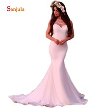 Sunzeus White Mermaid Wedding Dresses Bride Dresses