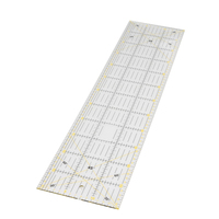 High Quality 1 Pcs 15 60 0 3cm Patchwork Ruler DIY Apparel Sewing Fabric Sewing Tools