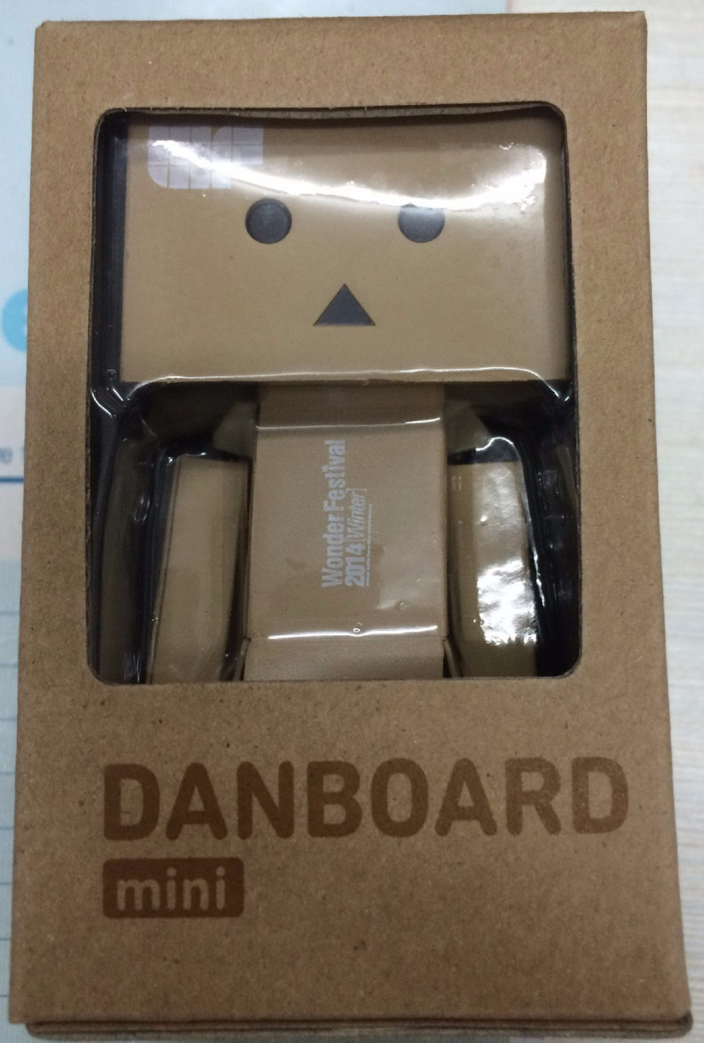 Mini Danboard danbo with Shining function 9.5*6*6 cm 1 pcs/set Boxed PVC Action Figure Toy limit version