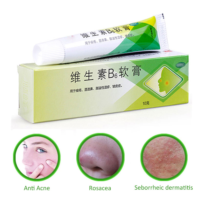 Chinese Herbal Face Cream Rosacea Treatment Red Nose Acne Rosacea Remover Face Cream Redness Flushing Vaselines Acne Treatment