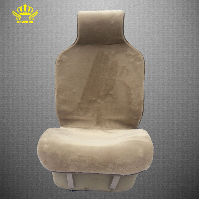 kopoha mex car seat covers set  brown faux fur cute  for   interior accessories cushioncar- styling winter new plush   pad  i078