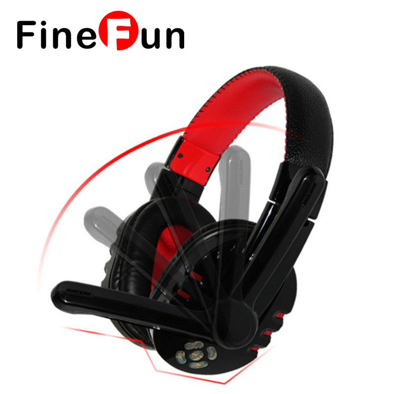 FineFun V8 Wireless Headphones Bluetooth Stereo Headset Stereo Headset Noise Canceling Stereo Laptop with Microphone for Phone finefun wireless headset bluetooth stereo earphones high capacity battery headphones for a mobile phone laptop andriod mp3