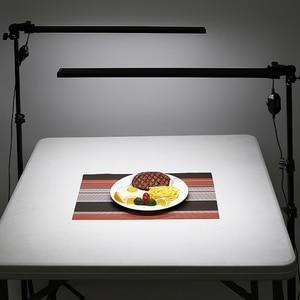 Image 5 - DEEP Photography Long Led Light Strip Photo Studio Lighting kit Photo Softbox Dimmer Switch 4pcs LED 4pcs Triod