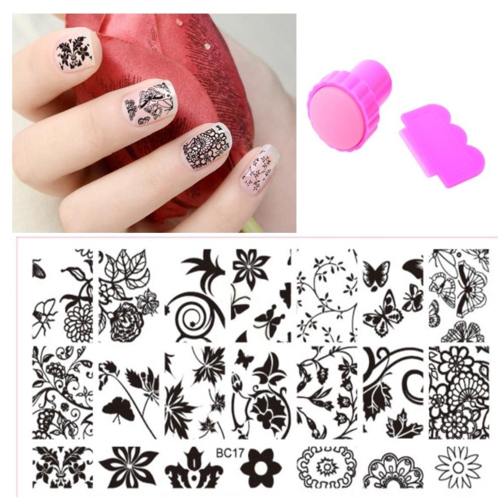Рисунки для ногтей в картинках своими руками