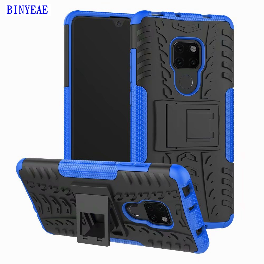 Heavy Armor Phone Cover For Huawei P20 Lite Mate 20 Pro P Smart Mate 20 Lite P10 Lite Nova 3E P20 Y6 2018 Y6 Prime 2018 Cases in Fitted Cases from Cellphones Telecommunications
